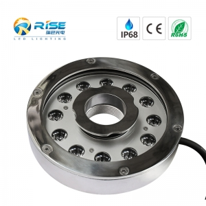 27W, IP68 9 * 3W led luz de piscina do chafariz