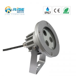 3W CREE LED paisagem Spotlight IP67